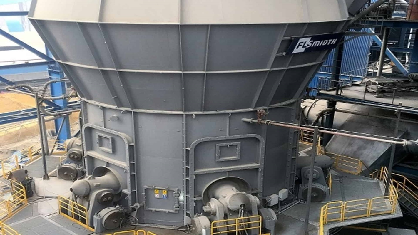 World's largest OK vertical roller mill at Shah Cement in Bangladesh