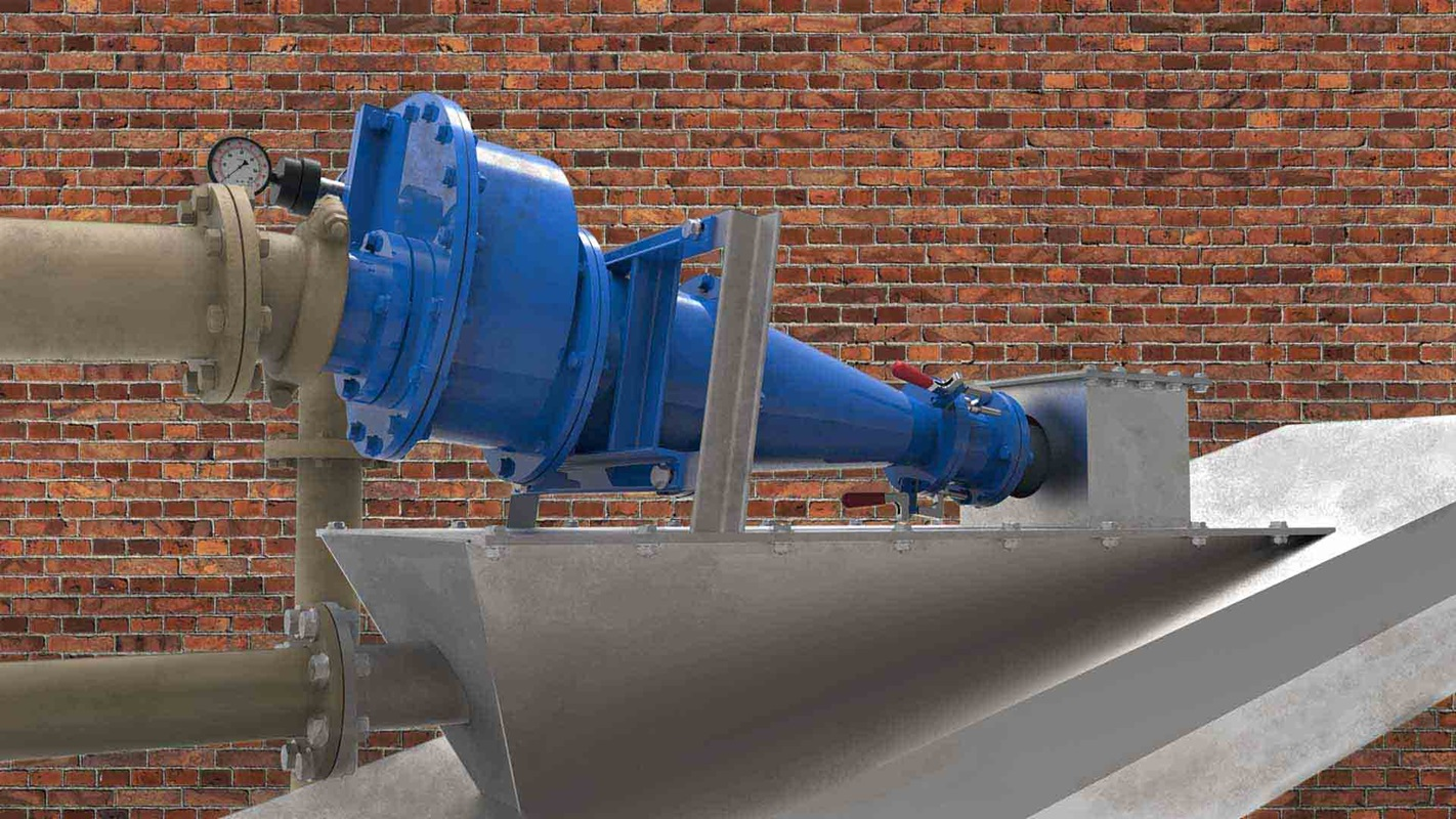 KREBS D series cyclone for degritting waste water
