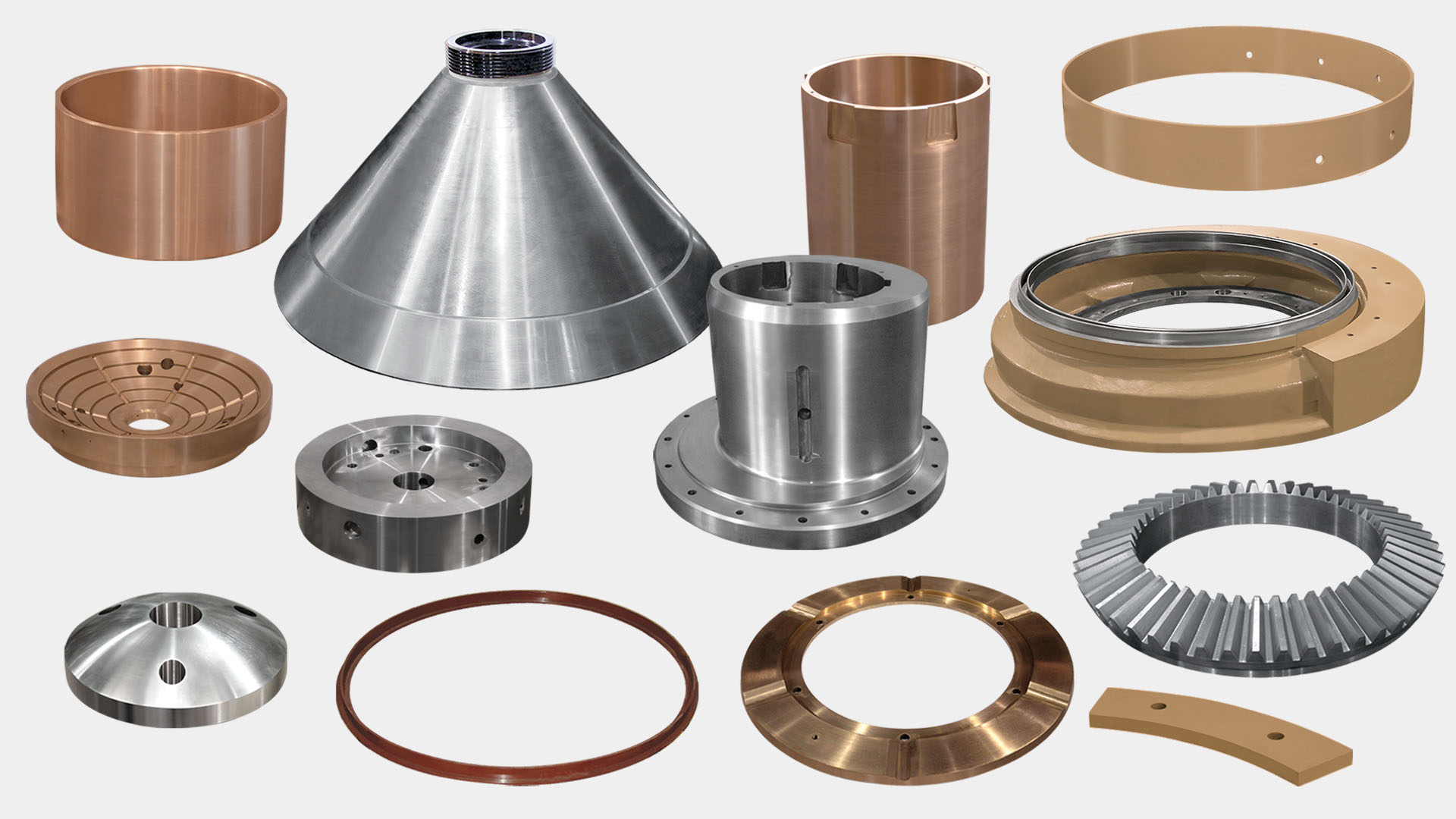 cone crusher parts for Omnicone Metso Outotec rock crushers