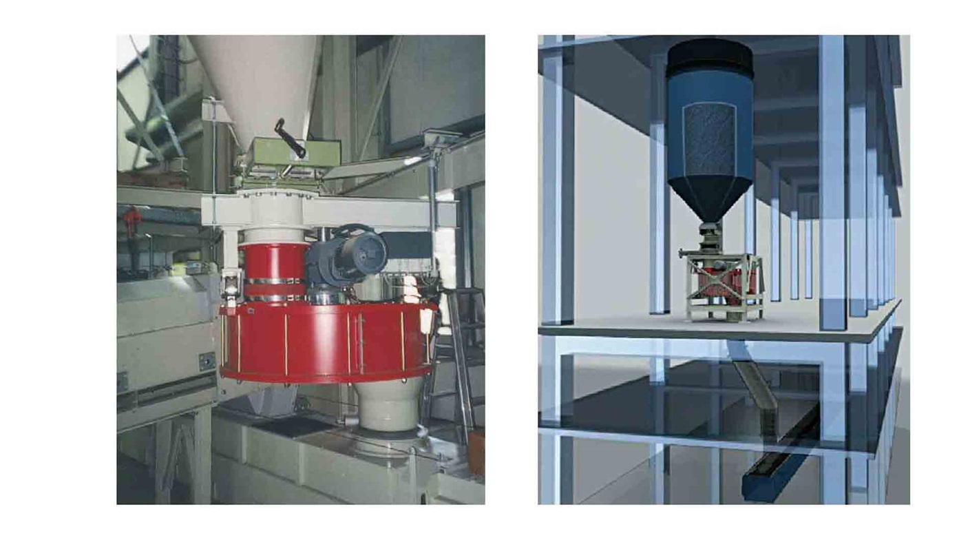 PFISTER TRW rotor weighfeeder for powerful handling of course and hot materia