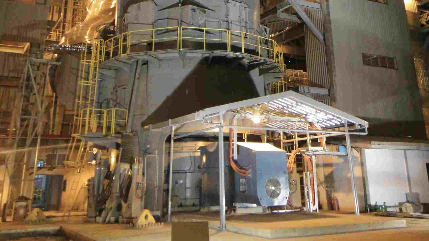 MAAG® WPU installed in an Atox mill by night