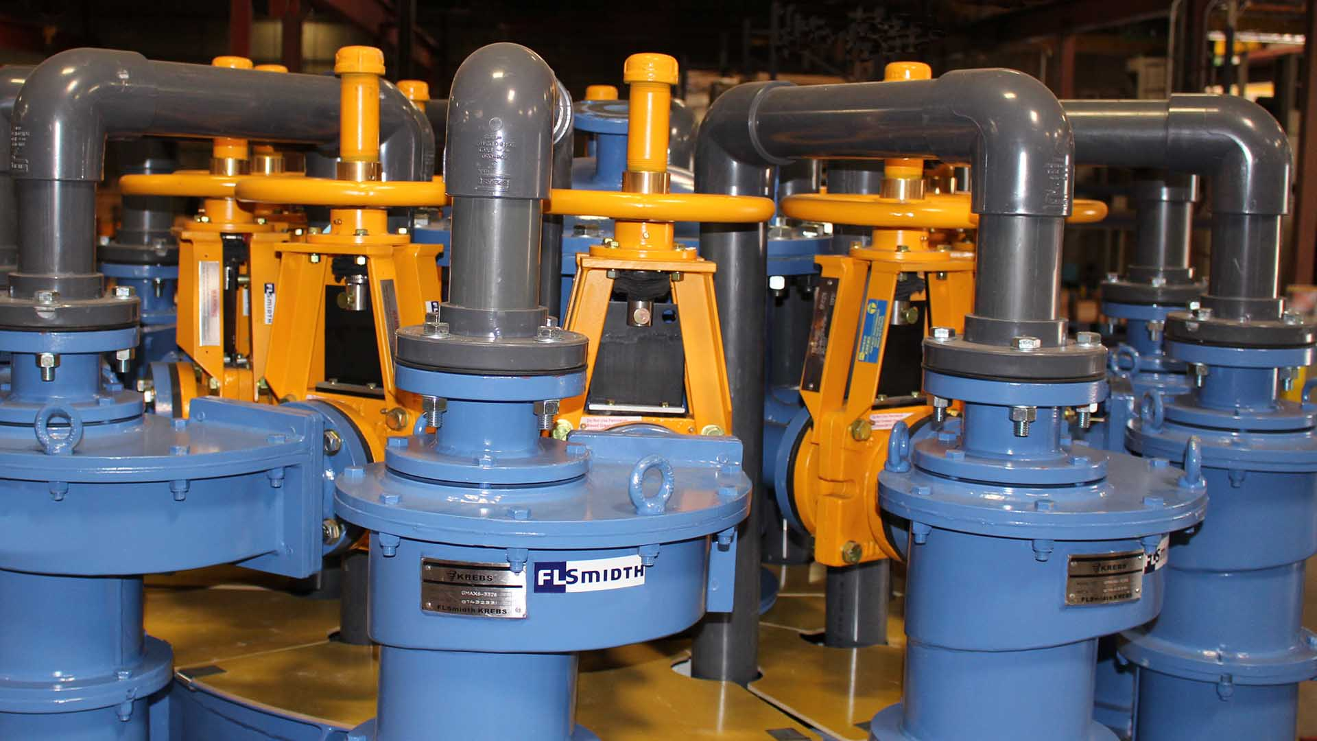 KREBS TG Knife Gate Slurry Valves