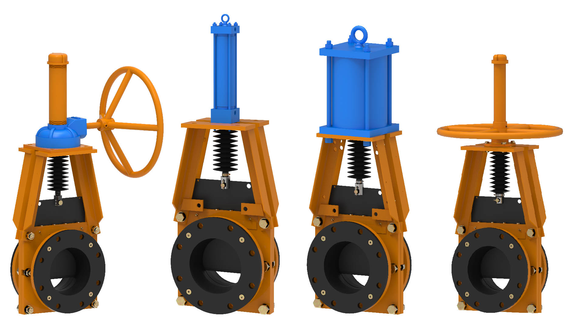 TGH  Knife Gate Valves