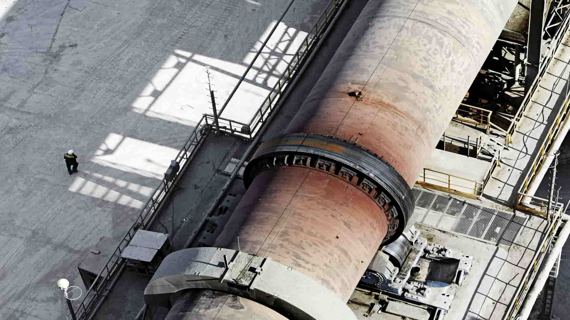 Kiln for cement plant